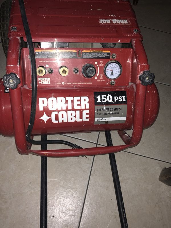 Porter Cable Job Boss Air Compressor Reviews
