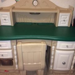 Step 2 Chair Diy Lawn Step2 Lifestyle Desk With Light And Clock For Sale In