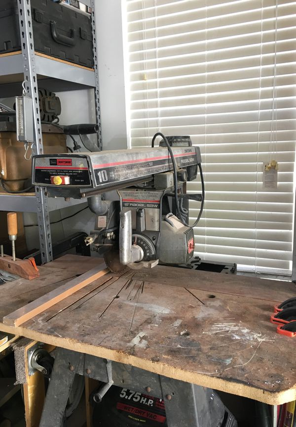 10 radial arm saw  several people have asked for various kinds of help with  their radial arm saws  the radial arm saw is a very versatile machine  around
