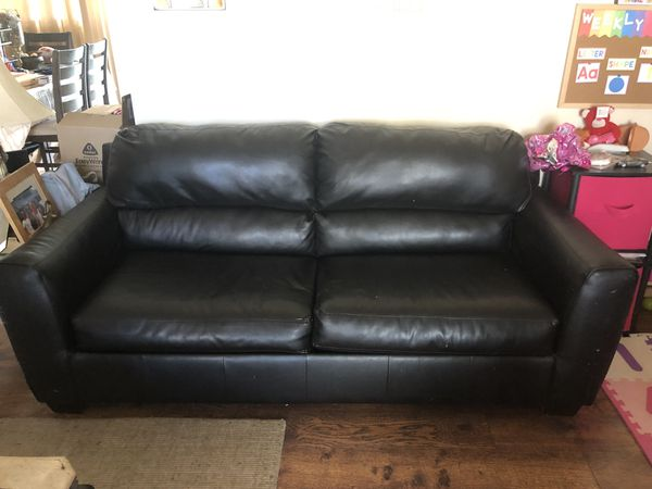 miramar leather sofa colchoes reclame aqui bed for sale in fl offerup