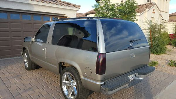 99 2 Dr Tahoe on 22 Iroc rims 57 for Sale in Queen Creek AZ  OfferUp