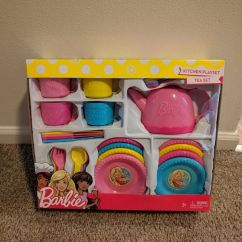 Barbie Kitchen Playset Small Table Lamps For Tea Set Sale In Auburn Wa Offerup