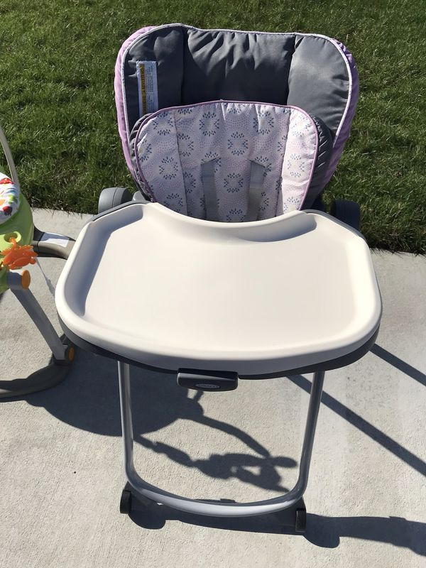 graco slim spaces high chair ashley accent chairs highchair for sale in chesapeake va offerup