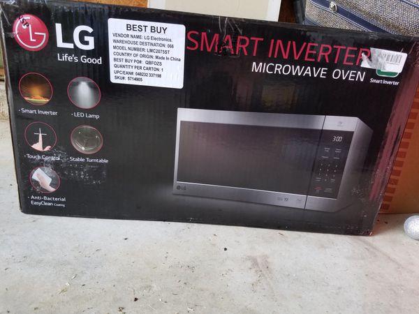 lg smart inverter microwave 2 0cu for