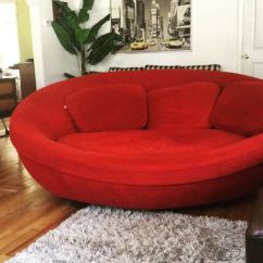 Oval Sofa Sectional Walmart Ufo Cellini Couch Not Made Any More For Sale In Stone