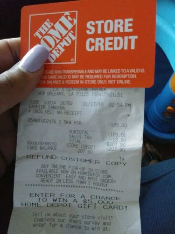 Home Depot Store Credit Balance : depot, store, credit, balance, Depot, Store, Credit, Balance