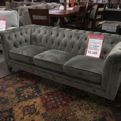 Velvet Chesterfield Sofa Prices Ashley Larkinhurst And Loveseat Kashvi Grey For Sale In Eden Prairie Mn