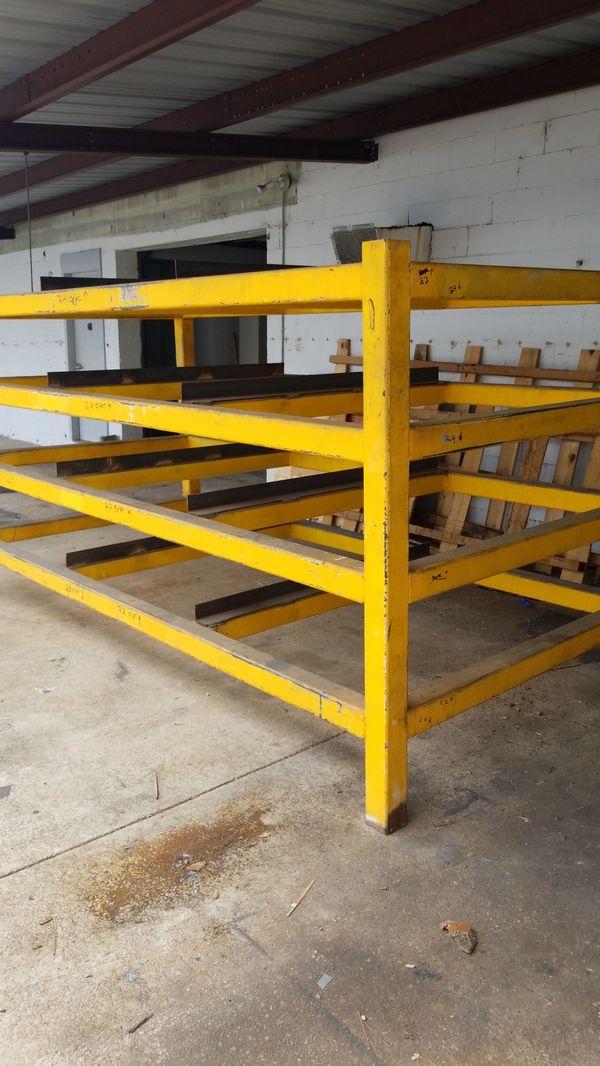 industrial steel shelving storage
