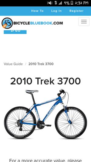 Trek 3700 Value : value, Brand, Trek.3, Serious, 3700...shimano, Gearsaluminum, Mountain, Bike...for, Great, Price.., Walnut,, OfferUp