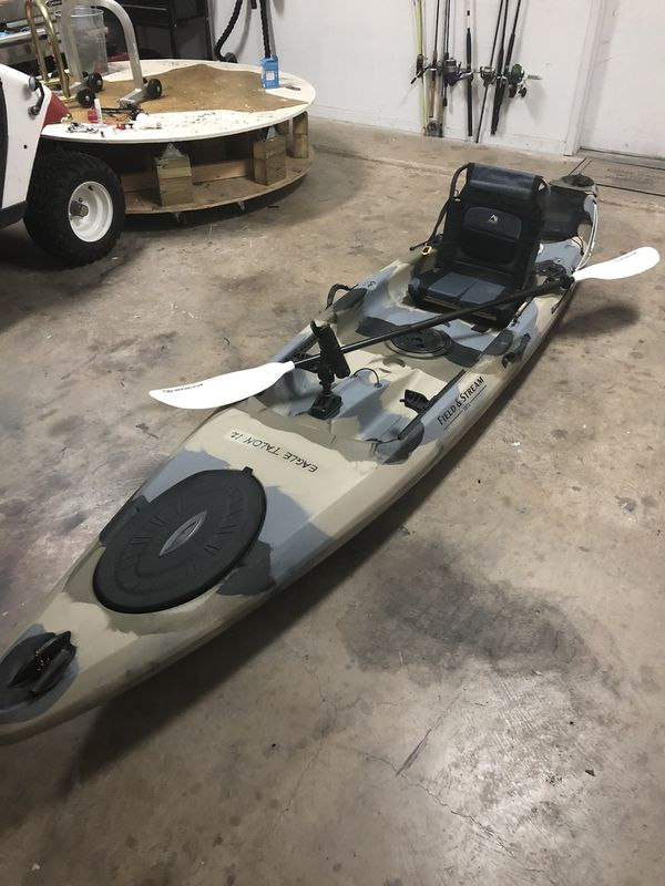 Eagle Talon Kayak : eagle, talon, kayak, Eagle, Talon, Kayak, Field, Stream, Worth,, OfferUp