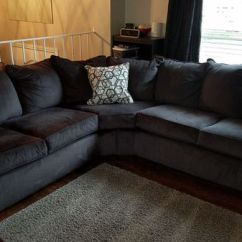 Sectional Sofa Purchase Best Bed Uk 2017 New Price 650 Newer Simmons Dorset Charcoal Gray For