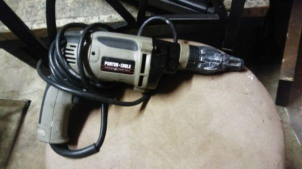 Porter Cable Drywall Screw Gun