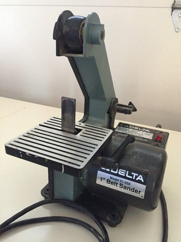 Delta 1 Inch Belt Sander Craigslist