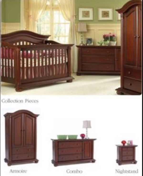 new baby cache heritage armoire and two