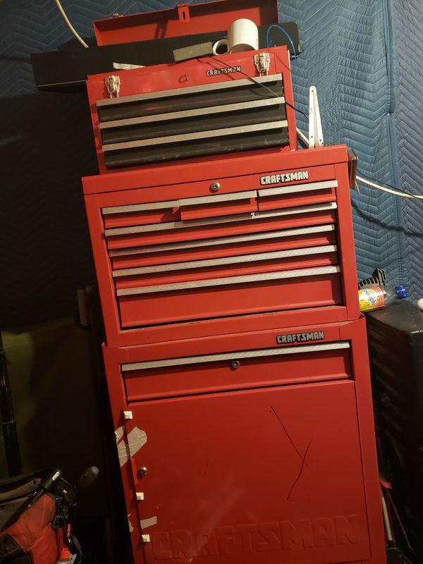 Craftsman Red Tool Box