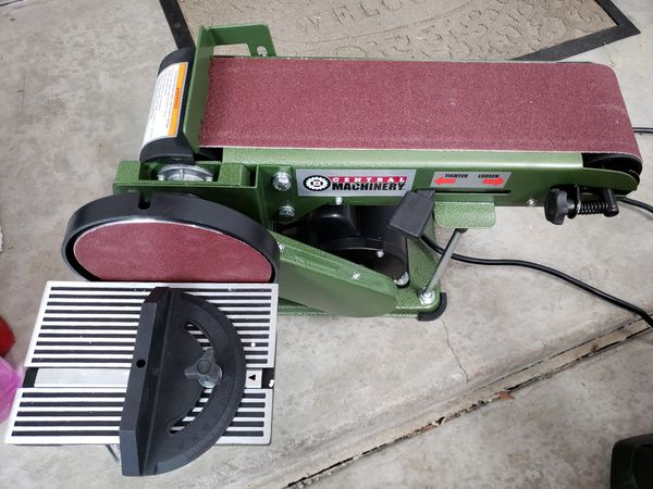Central Machinery Belt Sander Review
