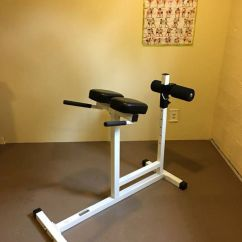 Commercial Gym Roman Chair Mity Lite Folding Chairs Parabody Hyperextension Machine For Sale In Tacoma Wa