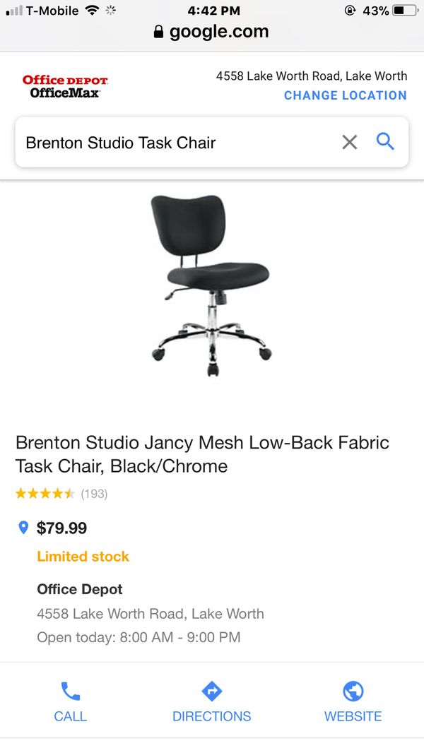 brenton studio task chair swing desk for sale in west palm beach fl offerup open the appcontinue to mobile website
