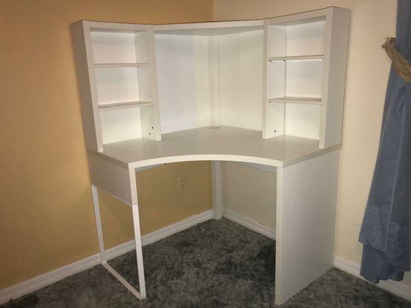 White Shelved Desk For Sale In Ocala FL OfferUp
