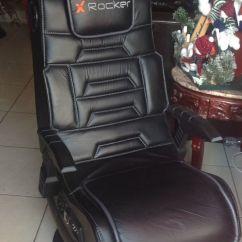 X Rocker Pro Pedestal Gaming Chair Bedroom Blush Pink Series Wireless Sound Vibration
