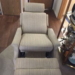 Pop Up Recliner Chairs Ikea Stocksund Chair Covers Pushback With Headrest For Sale In Eugene Or Offerup