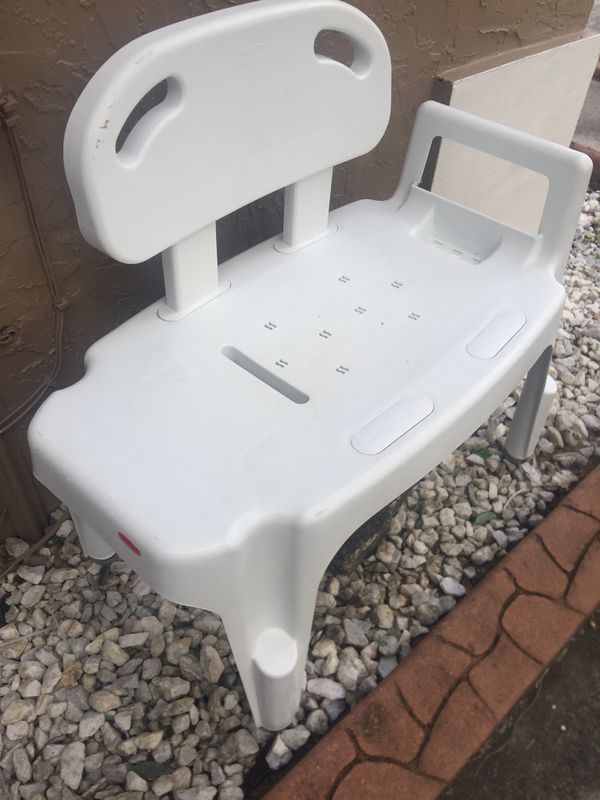rubbermaid shower chair replacement parts toys r us toddler chairs heavy sturdy medical bench for sale in plantation fl offerup