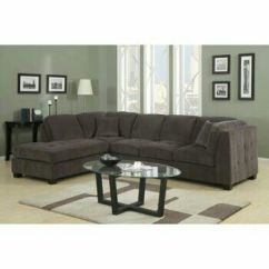 Microfiber Fabric Sofa Hamilton West Elm Reviews Rylie Grey Sectional Couch With Ottoman For