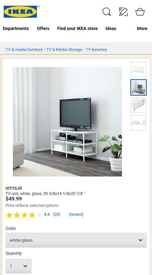 Ikea Vittsjö Tv Stand For Sale In Lake View Terrace Ca Offerup