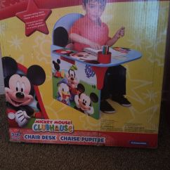 Mickey Mouse Clubhouse Chair Rocking Chairs For Porch Desk Chaise Pupitre Sale In