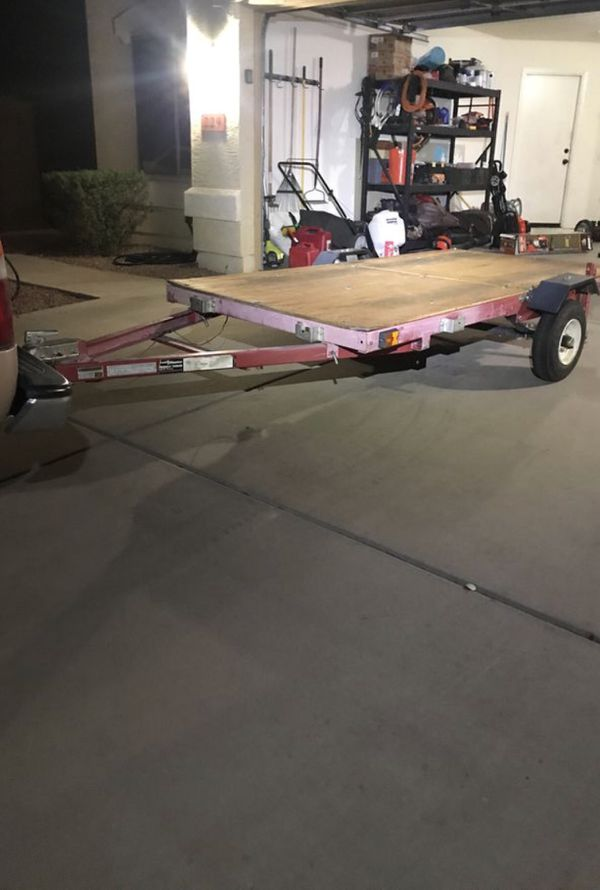 Harbor Freight 4×8 Folding Trailer Reviews