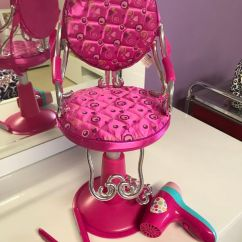 Doll Salon Chair Purple Reading American Girl For Sale In Parkland Fl Offerup