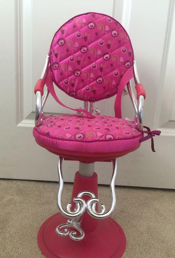 doll salon chair vintage swing 18 for american girl dolls sale in pomona ca offerup
