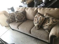 Ashley Furniture Cloth Couch. for Sale in Roseville, CA