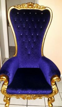 Throne royalty king royal chair for Sale in Fontana, CA ...