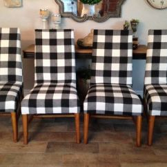 Black Farmhouse Chairs Swing Chair Urban Outfitters Set Of Four And White Buffalo Check Upholstered 200 00