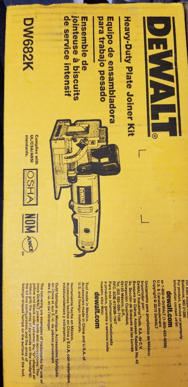 Dewalt Dw682k 65 Amp Plate Joiner