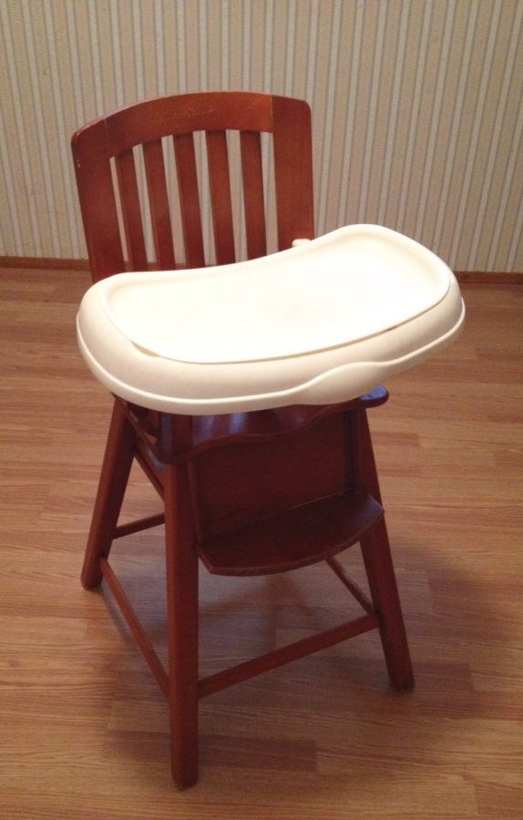 eddie bauer wood high chair dining room table baby kids in lake forest park wa offerup