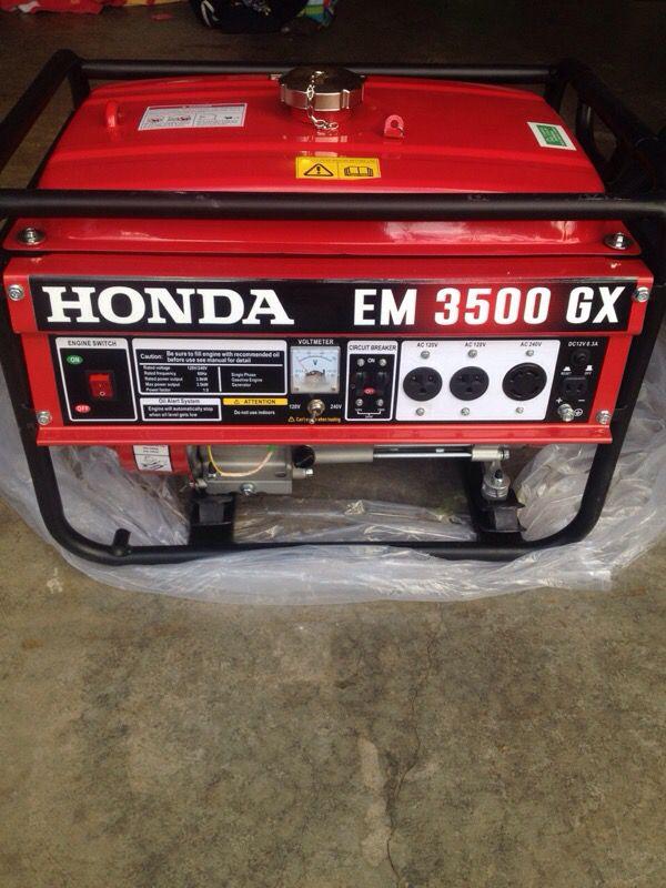 Honda Em 3500 Gx Generator : honda, generator, Honda, Generator, Woodburn,, OfferUp
