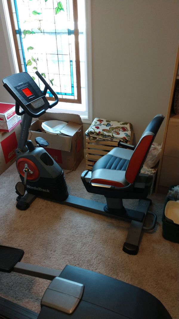 Nordictrack C3si : nordictrack, Nordictrack, Recumbent, Exercise
