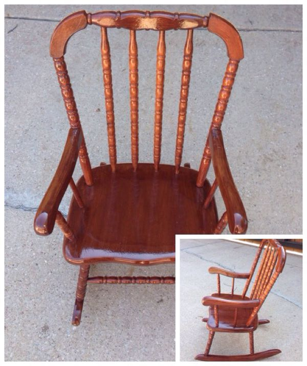 jenny lind rocking chair contemporary dining chairs vintage cherry finish wooden children rocker