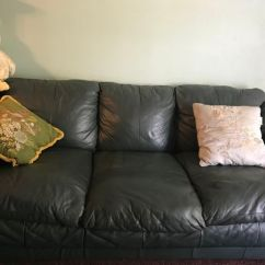 Dark Green Leather Sofa Stone Design And Loveseat For Sale In Anaheim Ca Offerup