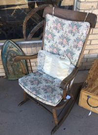 Vintage wood rocking chair. Solid for Sale in Albuquerque ...