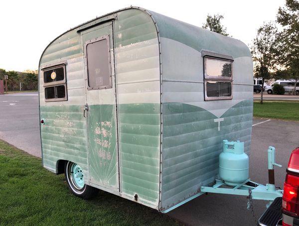 vintage travel trailer rare