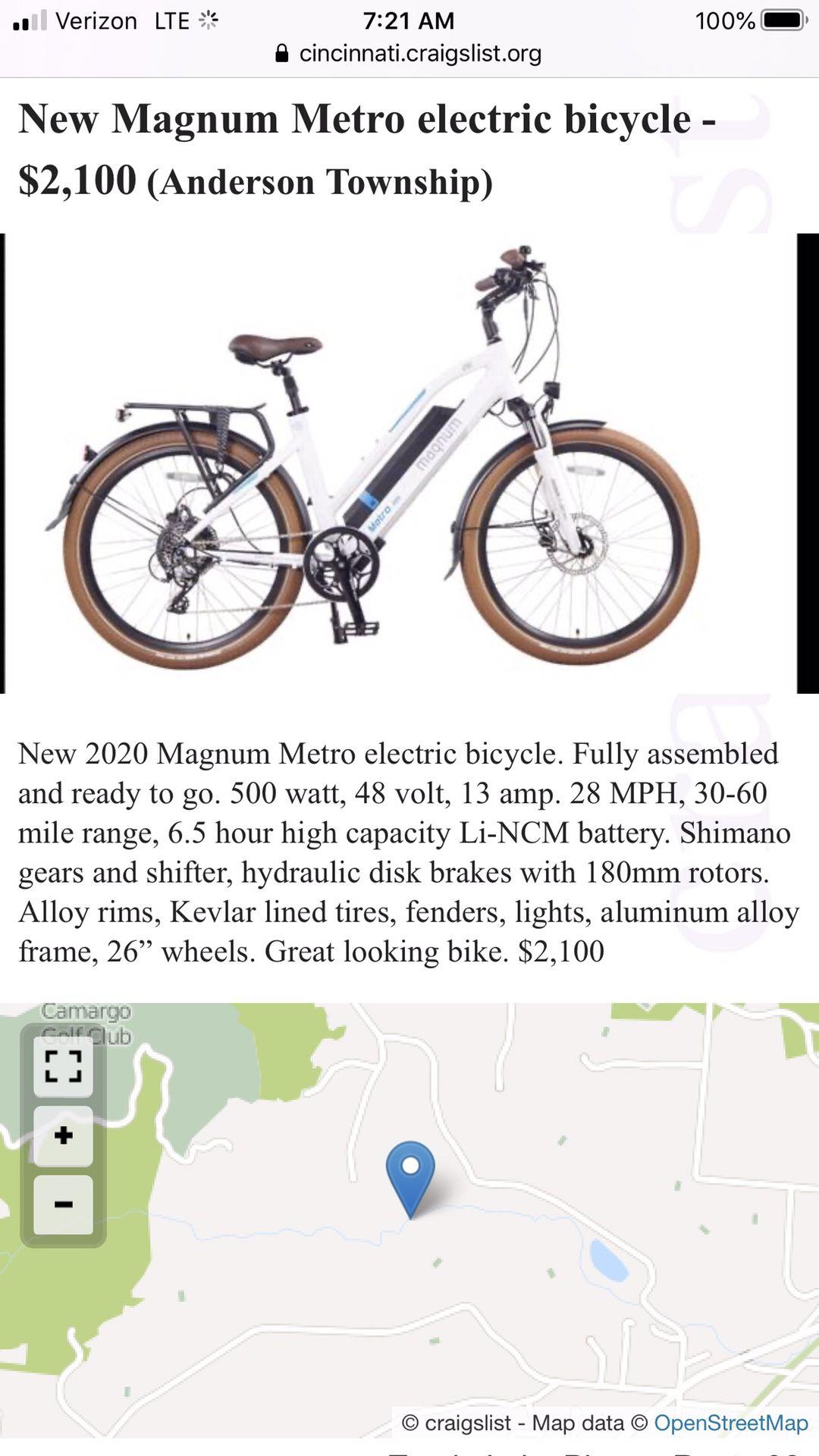 Used Electric Bikes Craigslist : electric, bikes, craigslist, Craigslist, Electric