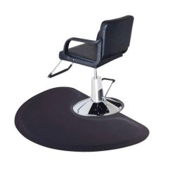 Barber Shop Chairs Cheap Tables And For Sale 3 X 5 Salon Chair Anti Fatigue Floor Mat Black Semi Circle 1 2 Thick