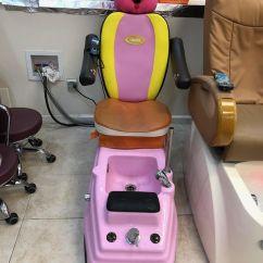 Child Pedicure Chair Tennis Ball Feet 2 Kiddie Nail Salon Chairs For Sale In Pearl City Hi