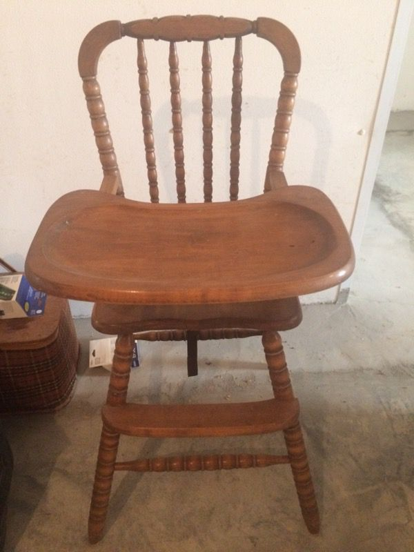 antique wooden high chair safety 1st winnie the pooh recall antiques in chattanooga tn offerup