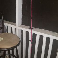 Zebco Fishing Chair Box Style Dining Cushions New And Used Rods For Sale In Myrtle Beach Sc Offerup Pink Rod Surfside