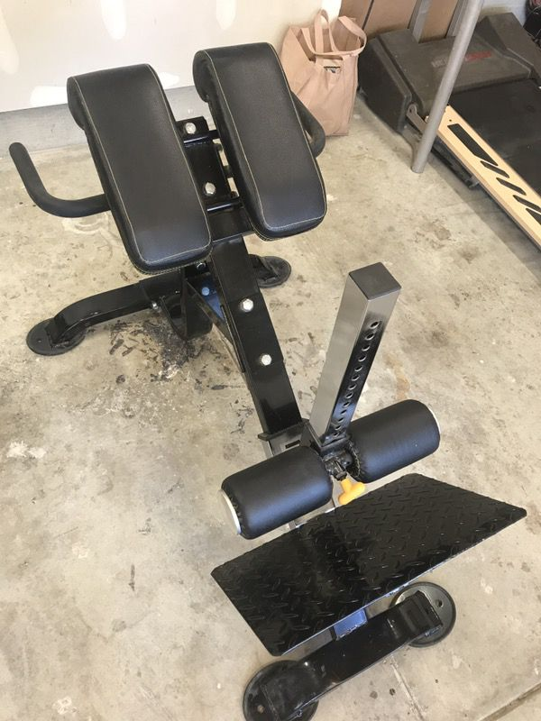 ab cruncher chair design black powertec dual hyperextension core crunch bench for sale in san