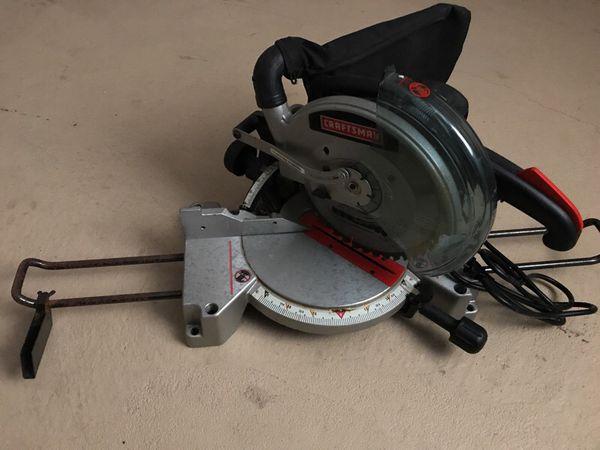 Craftsman 10 Compound Miter Saw